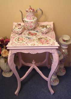 PRETTY PINK TABLE 2 by hillspeak, via Flickr