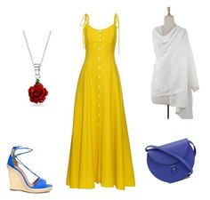 """""""Untitled #24"""" by tara2481 on Polyvore featuring Rosie Assoulin, Aquazzura, NOVICA, Bling Jewelry and PB 0110"""