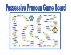 Possessive Pronoun Center Activity for small groups or literacy station work during guided reading. Students read a sentence and choose the correct possessive pronoun. Includes a game board and a set of task cards. Great for extra practice. Fun test prep Center.