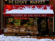 Deluca's Market a special meeting place!