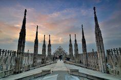 Duomo, Milano, Lombardia Italy