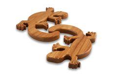 Buy Doolbi Gecko Trivet Online   Australian Woodwork   Australian Woodwork
