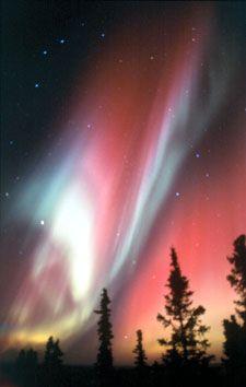 Northern Lights in Fairbanks, Alaska