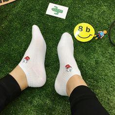 Foodie: Burger & Coke Ankle Sock Set - Sock Season by BKBT   - 1