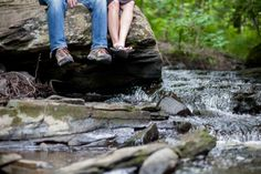 waterfall Engagement Photos | Waterfall Engagement Session