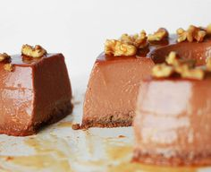 caramelo – The Cookie Shop Mousse, Panna Cotta, Cheesecake, Good Food, Dairy, Gluten, Favorite Recipes, Sweets, Cookies