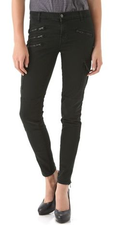 40% OFF J Brand Brix Skinny Zip Cargo Pants