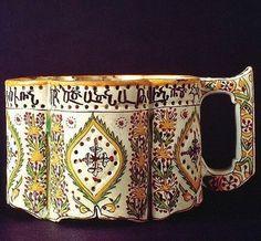 Ceramic incense burner, from Kütahya, ca. 1727. Made in an Armenian workshop.(Cincinnati Art Museum, Ohio).