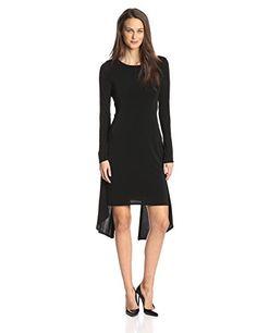 BCBGMAXAZRIA Women's Jennifer Vback Dress, Black, Small BCBGMAXAZRIA http://www.amazon.com/dp/B00MP6ECV0/ref=cm_sw_r_pi_dp_bq7Hub1954KR7