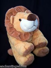 Ty Pluffies Tylux Tan Gold Brown White CATNAP Lion 2002 Beaded Eyes Stuffed