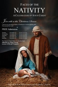 Advertisement for the Prince George, B.C. nativity festival.