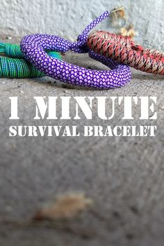 Bracelet Faster to make or undo than any other paracord bracelet! Faster to make or undo than any other paracord bracelet! Paracord Bracelet Survival, Paracord Watch, Paracord Bracelets, Paracord Knots, Paracord Bracelet Instructions, Bracelet Tutorial, Parachute Cord Crafts, Parachute Cord Bracelets, Swiss Paracord