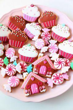 very sweet sugar cookies