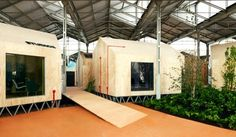 Temporary Timber Huts Pop Up at the Red Bull Music Festival in Spain | Inhabitat - Sustainable Design Innovation, Eco Architecture, Green Building