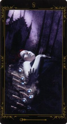 Dark Fairytale Tarot The Dark Fairytale Tarot is an exploration of the darker side of the world of the fae. It takes elements of both the Rider-Waite and Thoth foundations and blends them with lifelike medieval fantasy imagery.