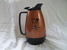 Thermal Coffee Carafe Therma Serve Filmworker's Club Restaurant Diner Vintage