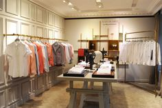 Nouvel espace femme à la boutique de la Madeleine #conceptstore #figaret #womenswear  Crédit Photo : E.Megret
