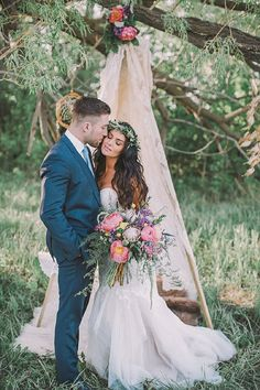 Bohemian Wedding Inspiration | Sharon Litchfield | Joy Wed blog | http://www.joy-wed.com