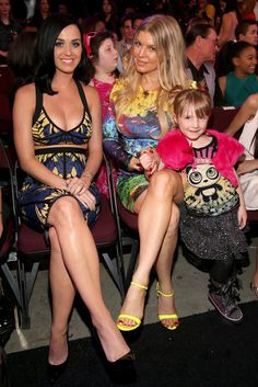 Katy Perry & Fergie at the 2013 Nickelodeon Kids Choice Awards