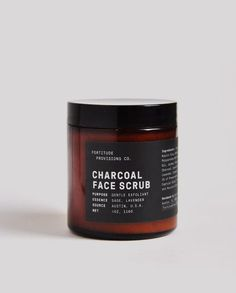 Fortitude Provisions Co | Charcoal Face Scrub | Natural Skincare