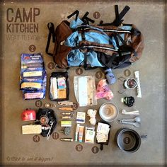 How to Pack a Camp Kitchen