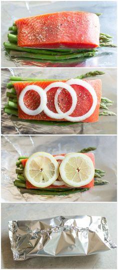 Foil Baked Salmon Recipe