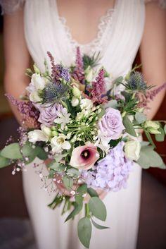 Wedding bouquet, hydrangea, rustic, country
