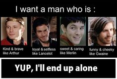 Image uploaded by Sh Shaker. Find images and videos about funny, bbc and merlin on We Heart It - the app to get lost in what you love. Merlin Memes, Merlin Funny, Merlin Quotes, Geeks, Sherlock, Bbc, Alone Life, It's Over Now, Merlin Fandom