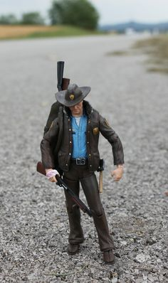 McFarlane Action Figures - Comic Book ~ The Walking Dead - Officer Rick Grimes (Series 1)