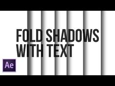 After Effects Tutorial: Shadow Cuts for Titles - Motion Graphics Adobe After Effects Tutorials, Film Effect, Wattpad Book Covers, After Effect Tutorial, Adobe Illustrator Tutorials, Animation Tutorial, Photoshop, Lightroom Tutorial, Graphic Design Tutorials