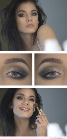 Linda Hallberg perfect makeup