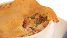 Giada De Laurentiis - Turkey and Pancetta Pot Pies