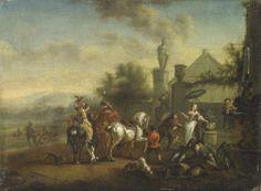 Carel Van Falens (1683-1733) Flemish Painter ~ Blog of an Art Admirer