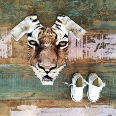 GIRLS • Popupshop organic cotton tiger leotard & Converse Chuck Taylor high tops. Available at Tiny Style in Noosa & online. We have some new Popupshop AW15 styles online now for preorder, due to arrive next week  •    www.tinystyle.com.au/brands/Popupshop