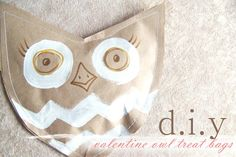 DIY -  Owl Treat Bags