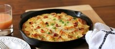 05Bacon, Egg, And Cheese Skillet Strata