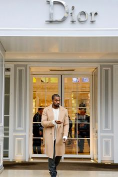 Ask Allen: What Brand Is the Beige Coat Kanye Often Wears? | UpscaleHype