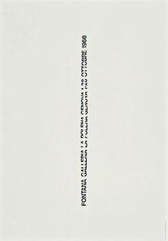 a g fronzini - fontana galleria la polena genova 1-28 ottobre 1966