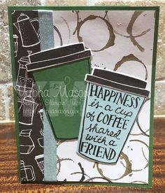Stampin' Up! coffee break by Yapha
