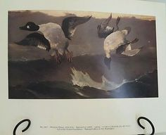 Vintage Print Right and Left, (1909) by Winslow Homer Nat Gallery of Art
