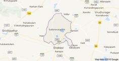 Map of Tamil Nadu 626130