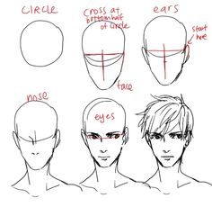 Male face~