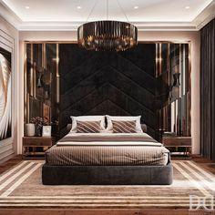 Luxury Homes Interior, Luxury Apartments, Interior Design, Modern Bedroom Furniture, Modern Room, Bedroom Bed Design, Bedroom Decor, Bedroom Ideas, Luxurious Bedrooms