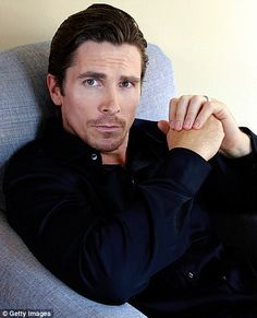 British-born Christian Bale (b. 1974) One of Hollywood's biggest hitters & is as complex as many of the parts he plays.  He says that his Serbian-American wife of 9 years is feisty & strong, & that he loves that she won't take any of his nonsense.  Tough job!