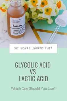 Are you Team Glycolic or Team Lactic?If you don't know what I'm talking about, this is the ultimate battle for exfoliation. Both glycolic and lactic acids want to be the one to get those dead cells off your face and make your complexion glow.But only one can get the gig. So, which one should you choose? #exfoliation #exfoliants Acne Prone Skin, Oily Skin, Sensitive Skin, The Ordinary Glycolic Acid, Sun Damaged Skin, Alpha Hydroxy Acid, How To Get Rid Of Acne, Younger Looking Skin, How To Treat Acne
