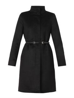 Max Mara Studio Accorta coat Professional Dresses, Max Mara, Cool Style, Women Wear, High Neck Dress, Studio, Elegant, Short Coats, Jackets