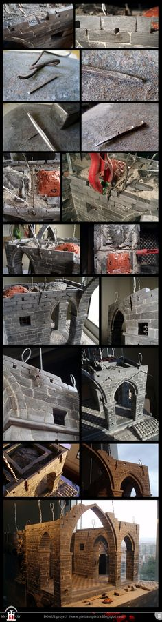 Domus project 147-151: Iron ties and anchors by Wernerio on DeviantArt