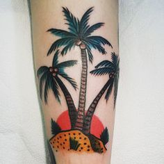 50 Superb Palm Tree Tattoo Designs and Meaning Check more at http://tattoo-journal.com/50-superb-palm-tree-tattoo-designs-and-meaning/