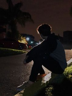 sitting on a wet curb wishing all the city lights would just turn off, why aren&. aren City curb Lights sitting Turn wet wishing Alone Photography, Photography Poses For Men, Dark Photography, Ft Tumblr, Tumblr Boys, Boys Dpz, Character Inspiration, Find Image, Photoshoot