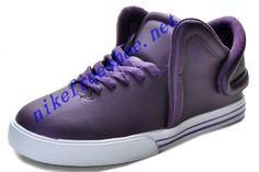 16e003915e5c Buy Supra Falcon Shoe For Sale Metallic Purple Leather White